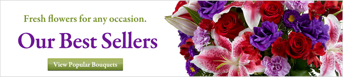 View our best selling flowers and gifts delivered next-door or nationwide