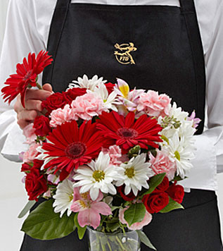 Florist Designed Vased Bouquet
