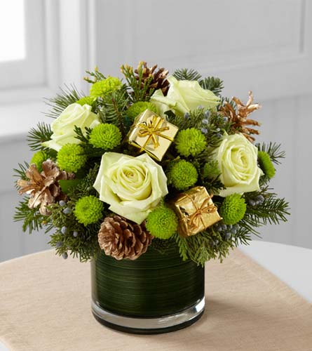 The Flower Shop Winter Seasons Sparkle Bouquet B18 4959