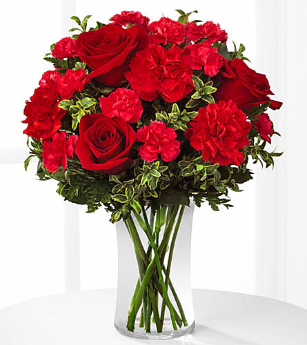 The flower shop love romance always true bouquet b23 4800