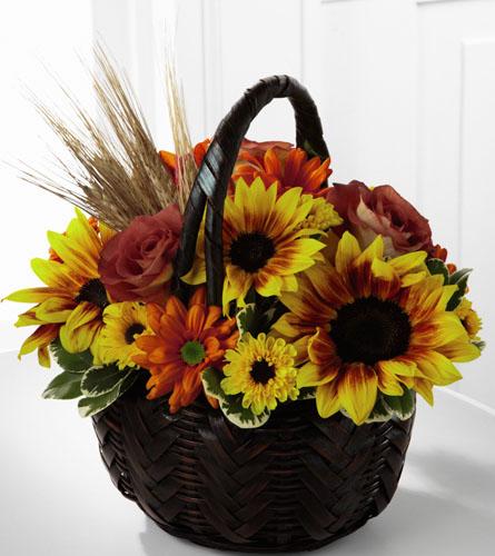 The flower shop thanksgiving ftd s harvest sunshine