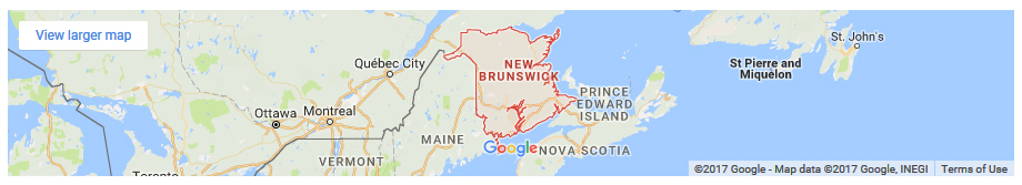 Send flowers to colleges and universities in New Brunswick Canada