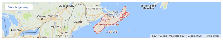 Send flowers to colleges and universities in Nova Scotia Canada