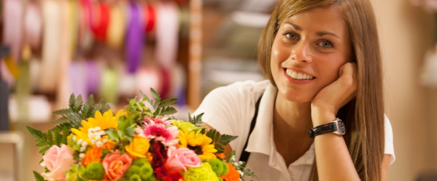 Customer Service - The Flower Shop
